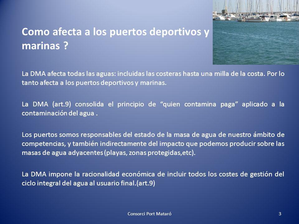 Como afecta a los puertos deportivos y marinas