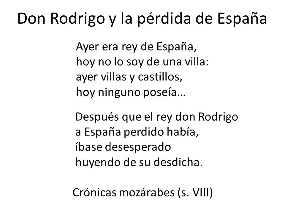 Don Rodrigo y la pérdida de España