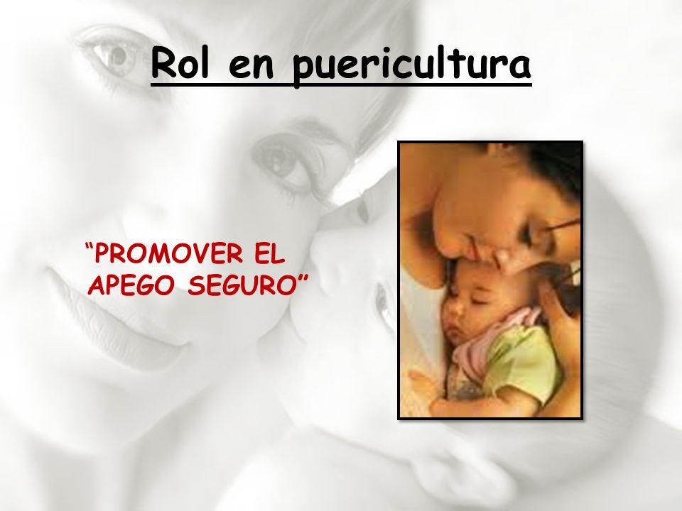 PROMOVER EL APEGO SEGURO