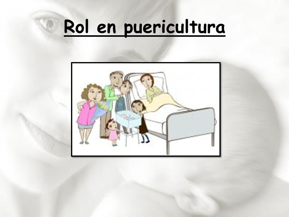 Rol en puericultura