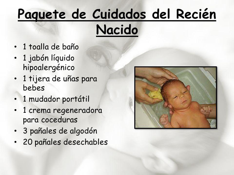 Paquete de Cuidados del Recién Nacido