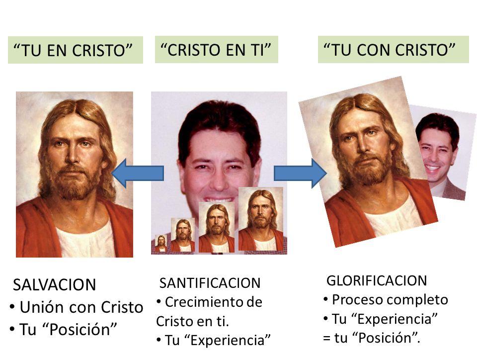 TU EN CRISTO CRISTO EN TI TU CON CRISTO SALVACION
