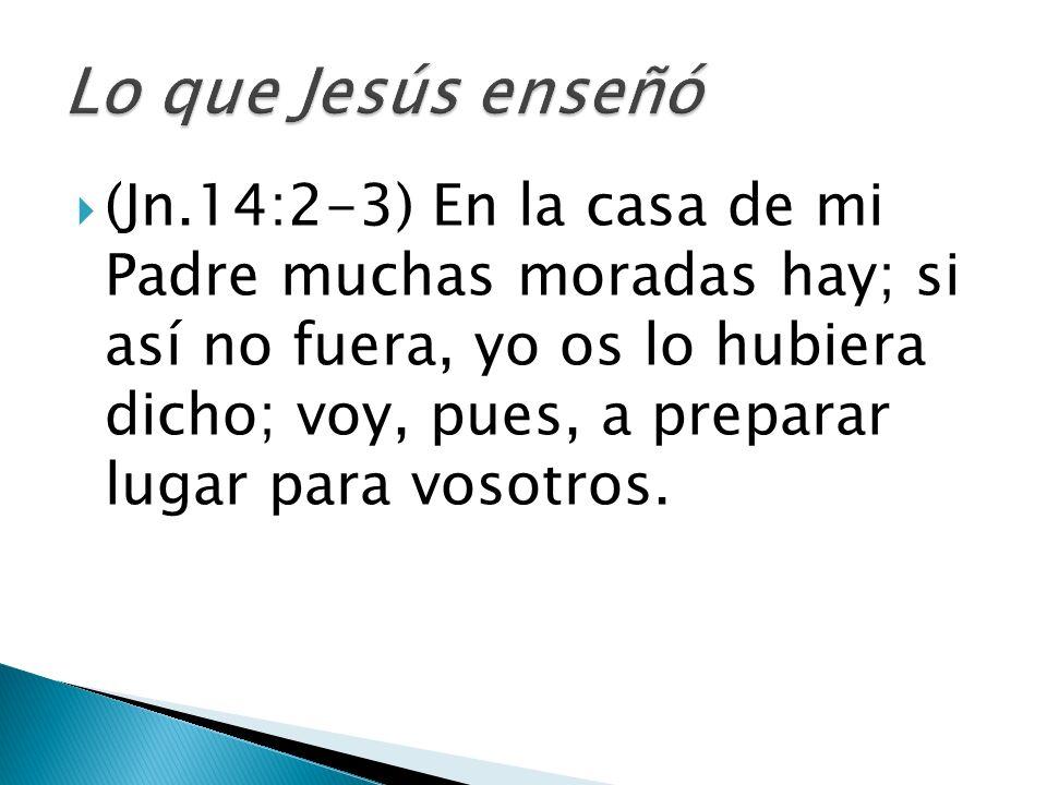 Lo que Jesús enseñó