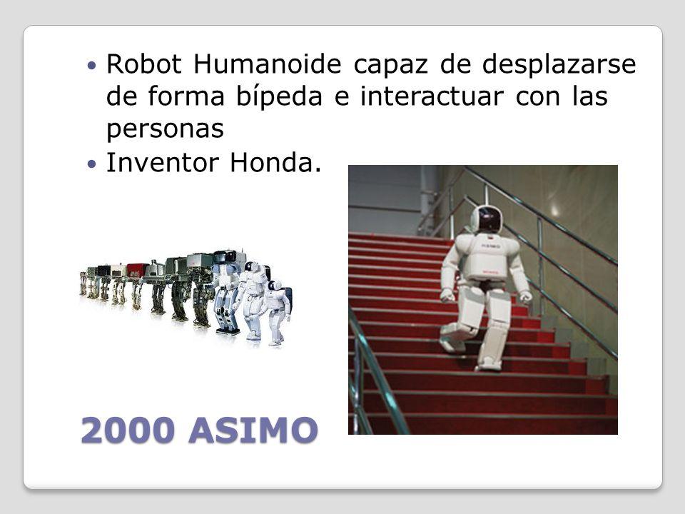 Robot Humanoide capaz de desplazarse de forma bípeda e interactuar con las personas
