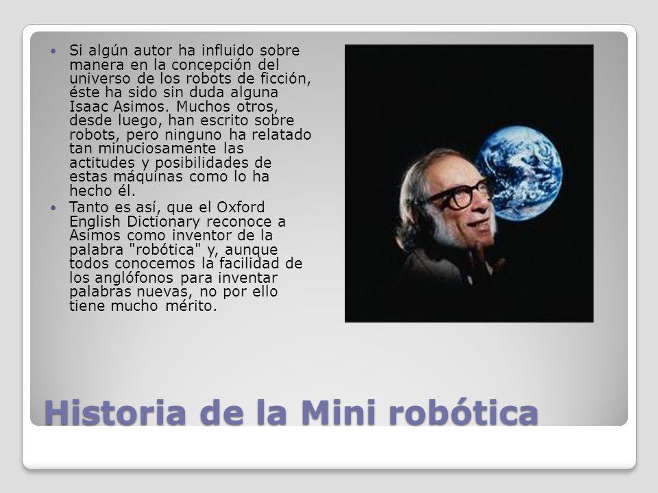 Historia de la Mini robótica