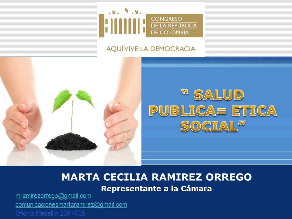 SALUD PUBLICA= ETICA SOCIAL