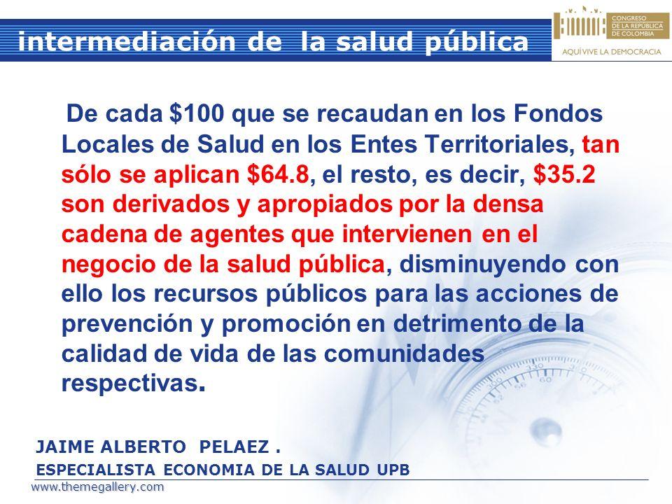 intermediación de la salud pública