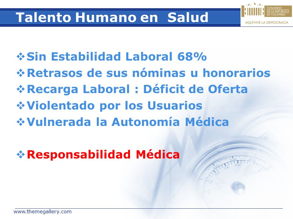 Talento Humano en Salud