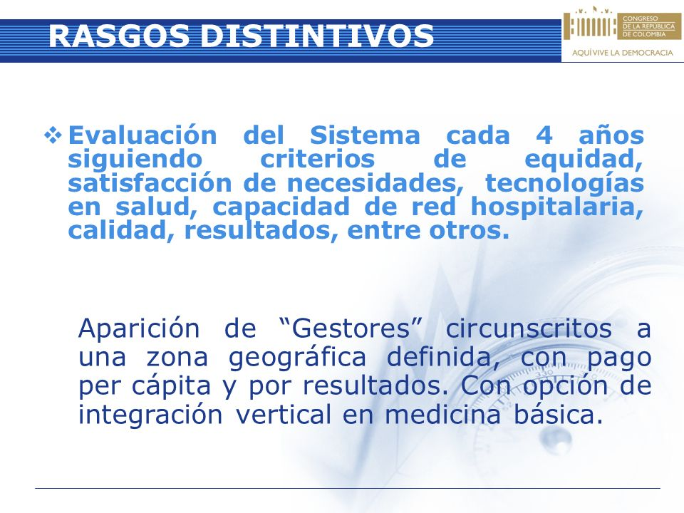 RASGOS DISTINTIVOS