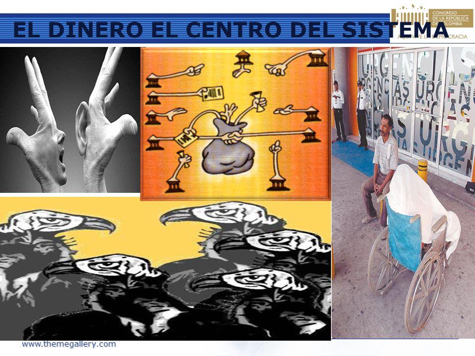EL DINERO EL CENTRO DEL SISTEMA