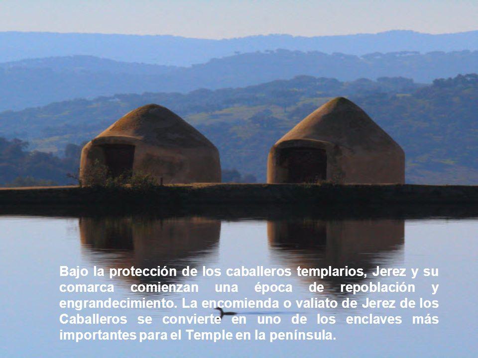 Bajo la protección de los caballeros templarios, Jerez y su comarca comienzan una época de repoblación y engrandecimiento.