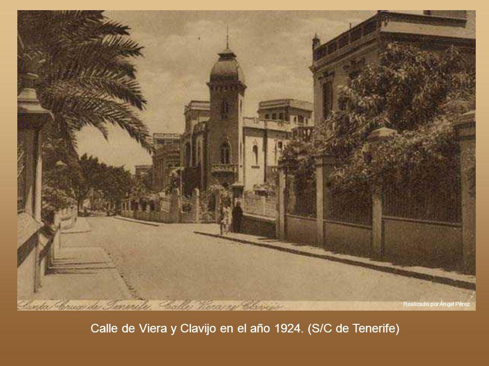 Calle de Viera y Clavijo en el año 1924. (S/C de Tenerife)