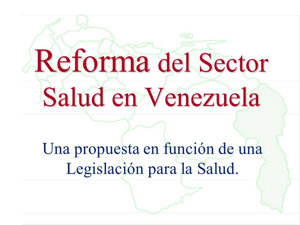 Reforma del Sector Salud en Venezuela
