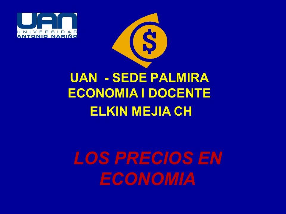 LOS PRECIOS EN ECONOMIA