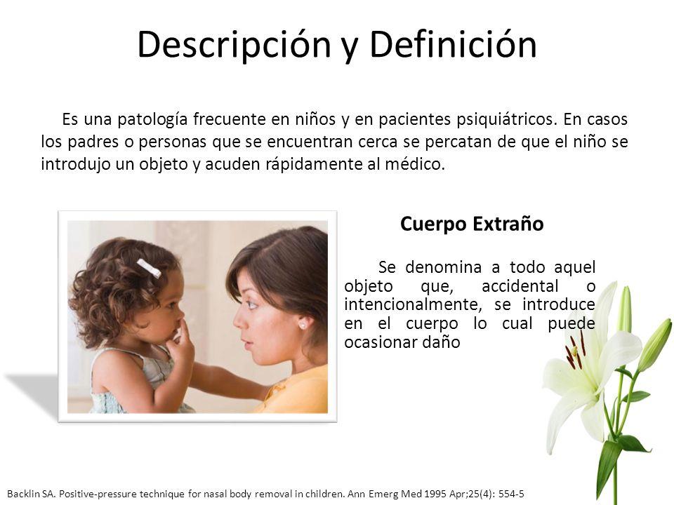 Descripción y Definición