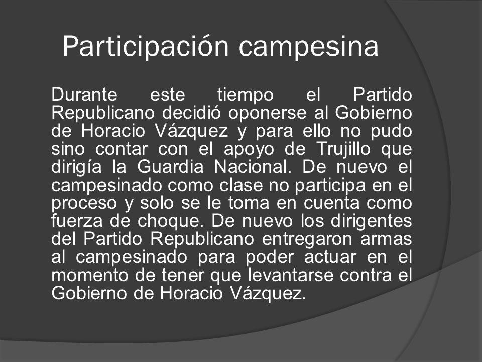 Participación campesina