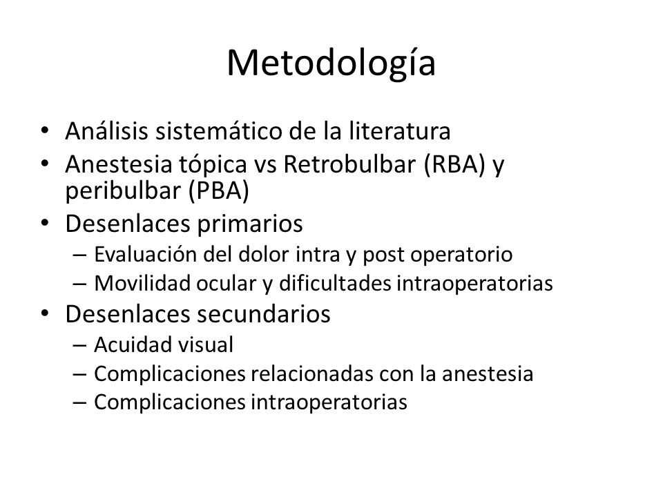 Metodología Análisis sistemático de la literatura