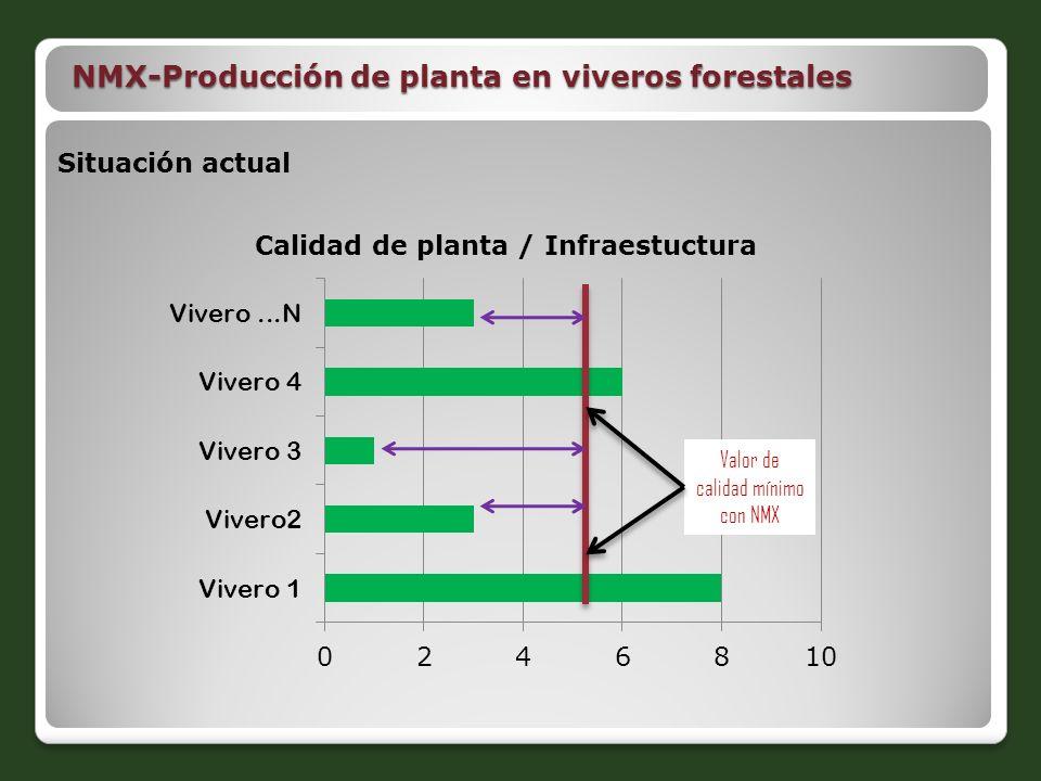 Proyectos de norma nmx ppt descargar for Manejo de viveros forestales