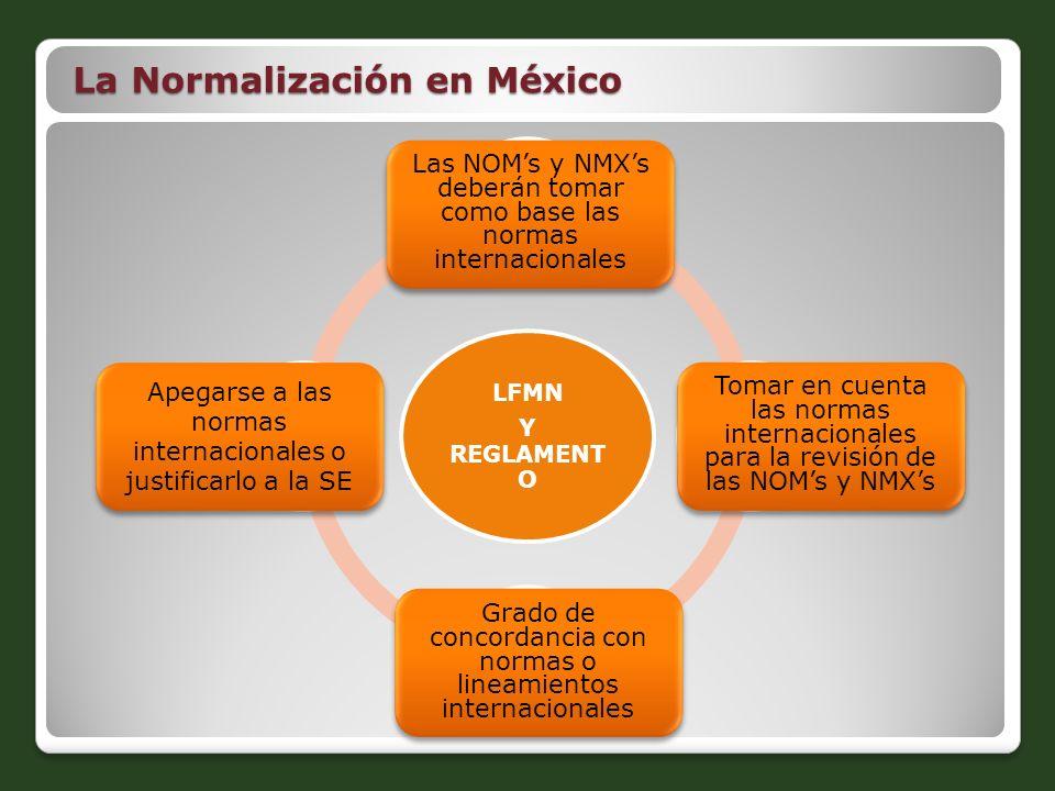La Normalización en México