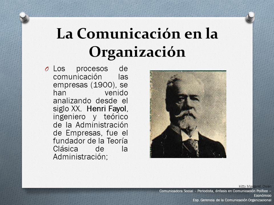 La Comunicación en la Organización
