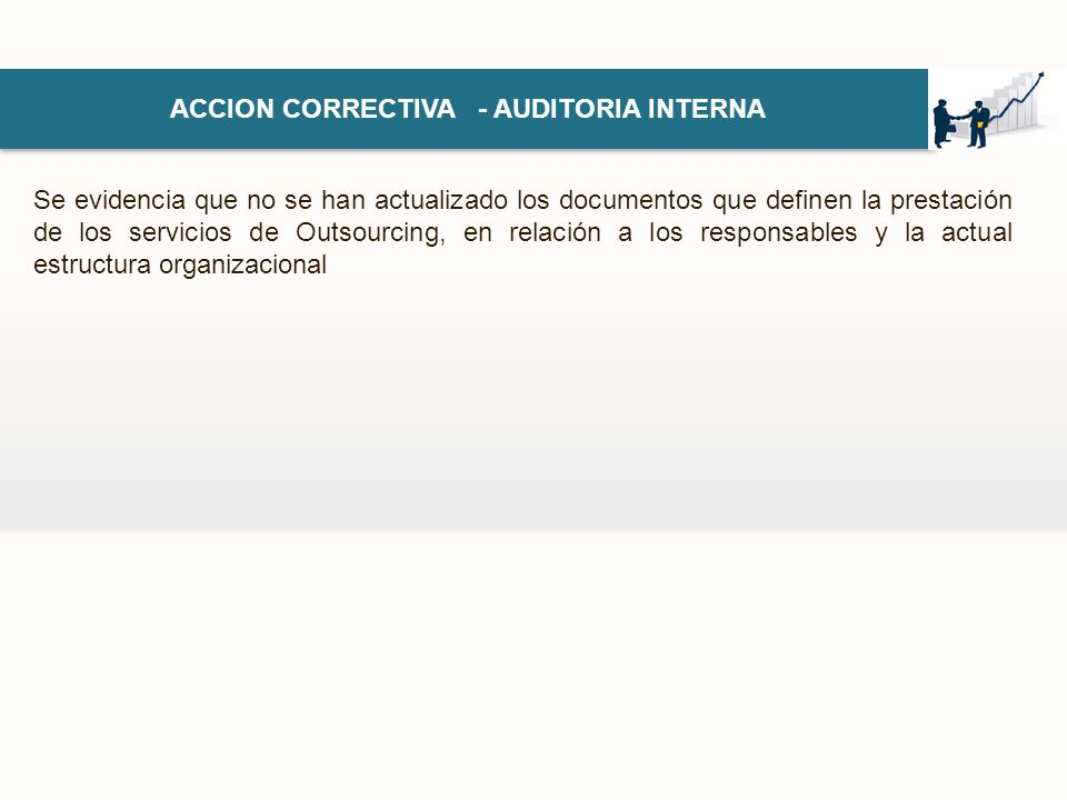 ACCION CORRECTIVA - AUDITORIA INTERNA