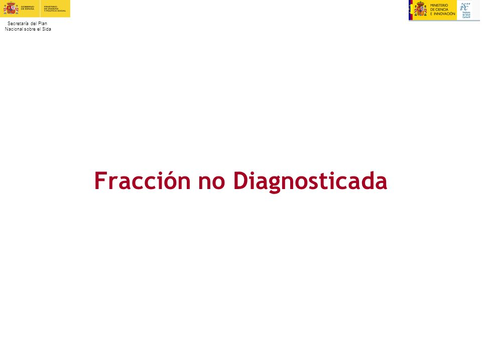 Fracción no Diagnosticada