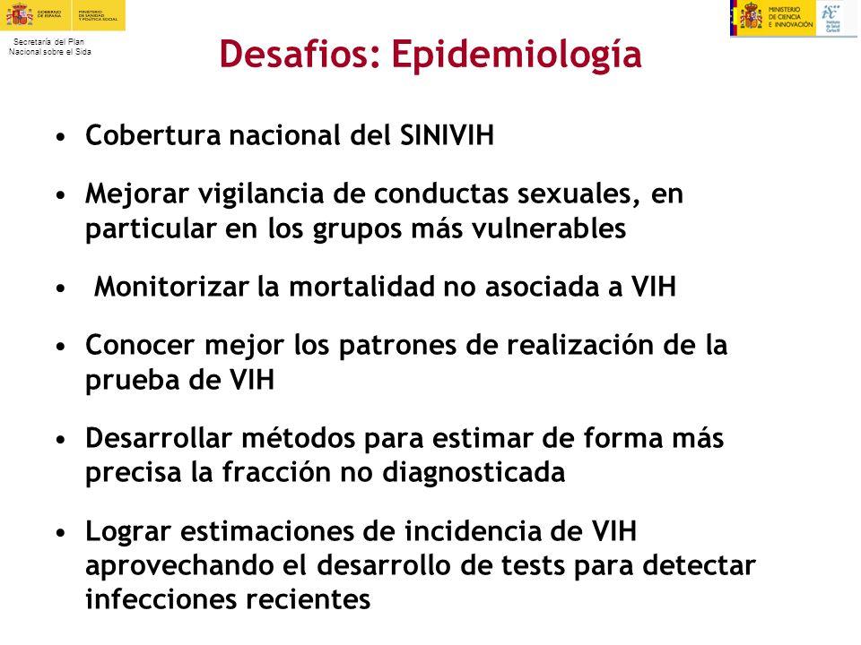 Desafios: Epidemiología