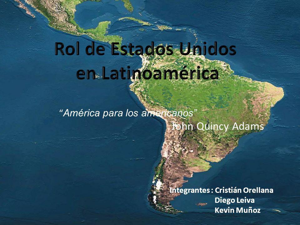 Rol de Estados Unidos en Latinoamérica