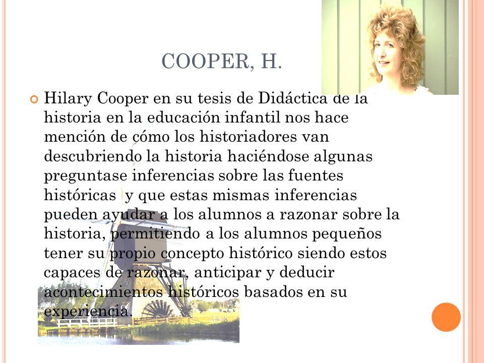 COOPER, H.