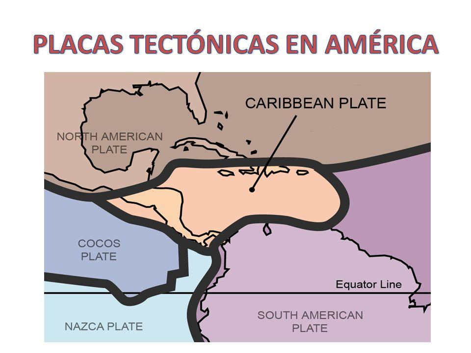 PLACAS TECTÓNICAS EN AMÉRICA
