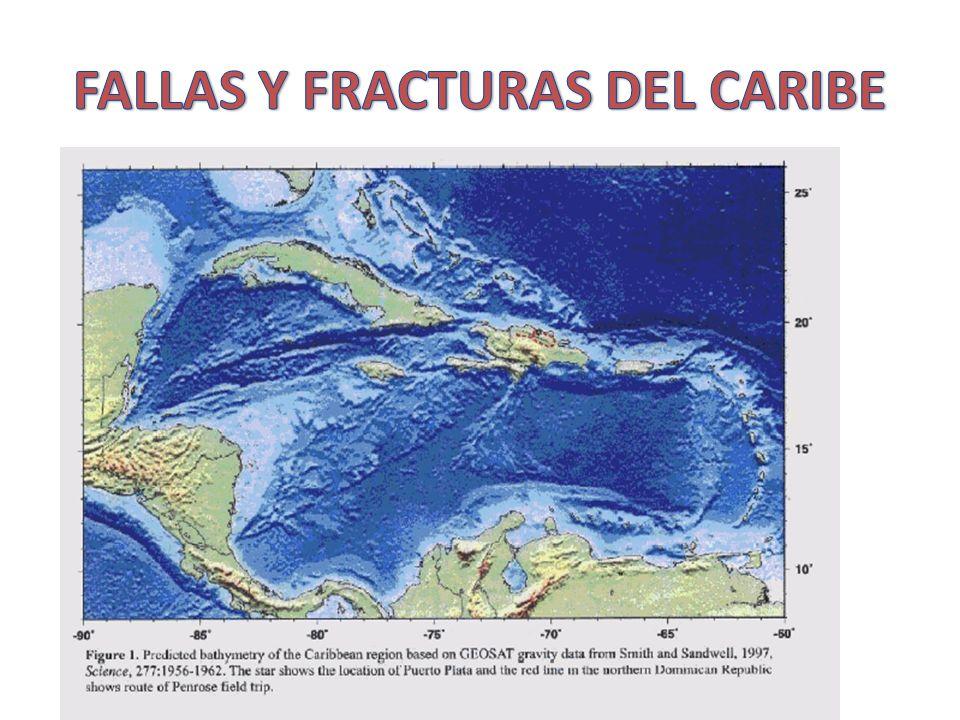 FALLAS Y FRACTURAS DEL CARIBE