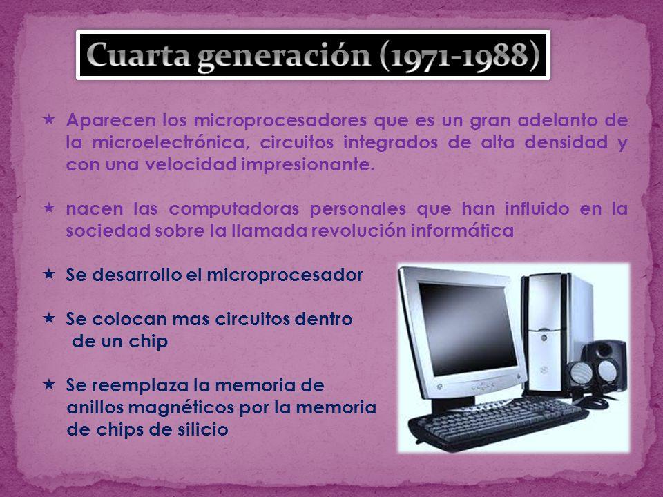 Cuarta generación (1971-1988)