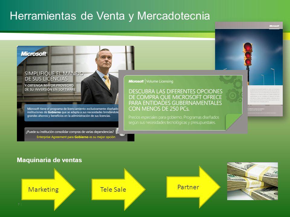 Herramientas de Venta y Mercadotecnia