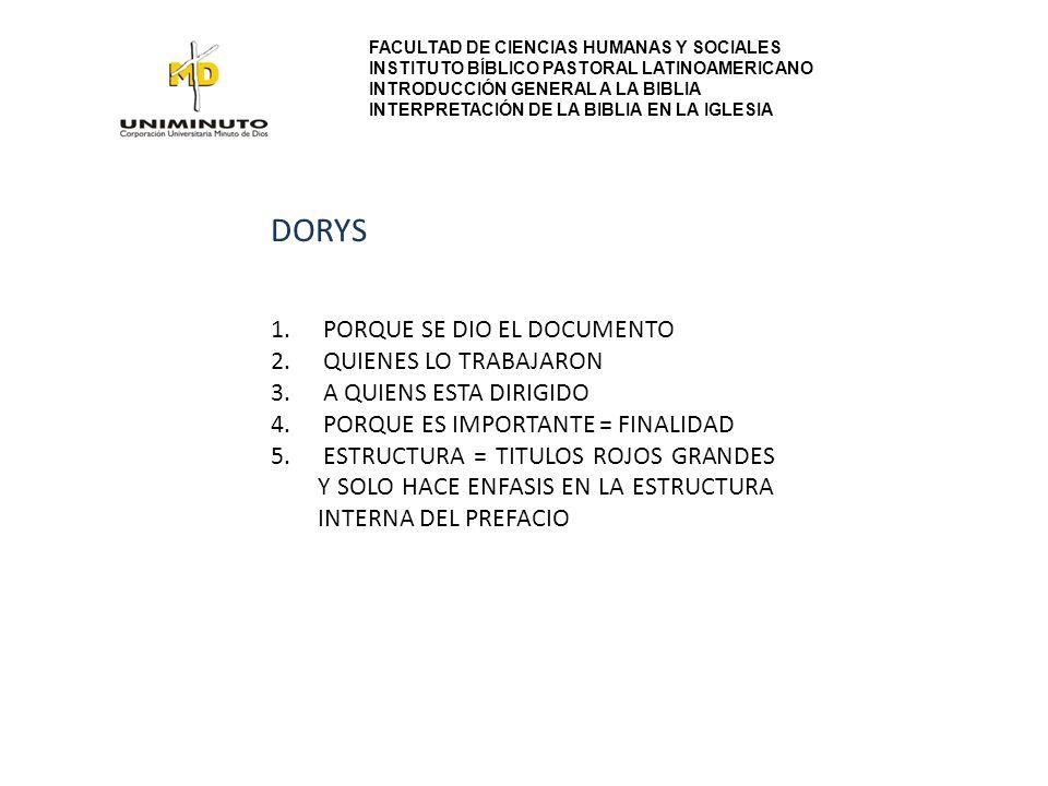 DORYS PORQUE SE DIO EL DOCUMENTO QUIENES LO TRABAJARON
