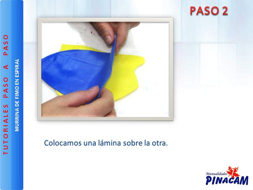 MURRINA DE FIMO EN ESPIRAL