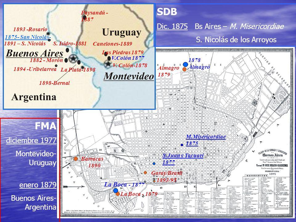 SDB FMA Dic. 1875 Bs Aires – M. Misericordiae