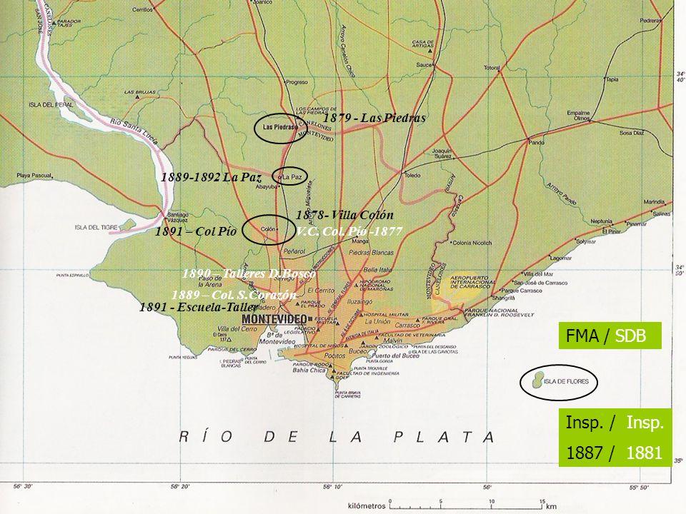 FMA / SDB Insp. / Insp. 1887 / 1881 1879 - Las Piedras