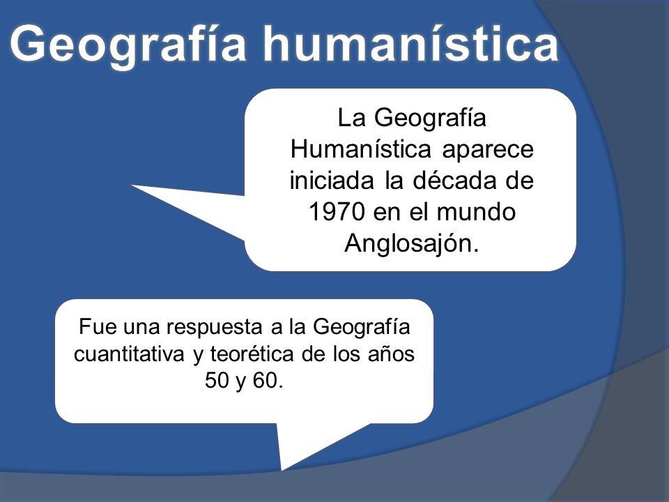 Geografía humanística