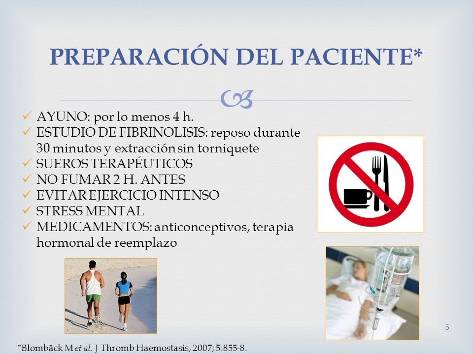 PREPARACIÓN DEL PACIENTE*