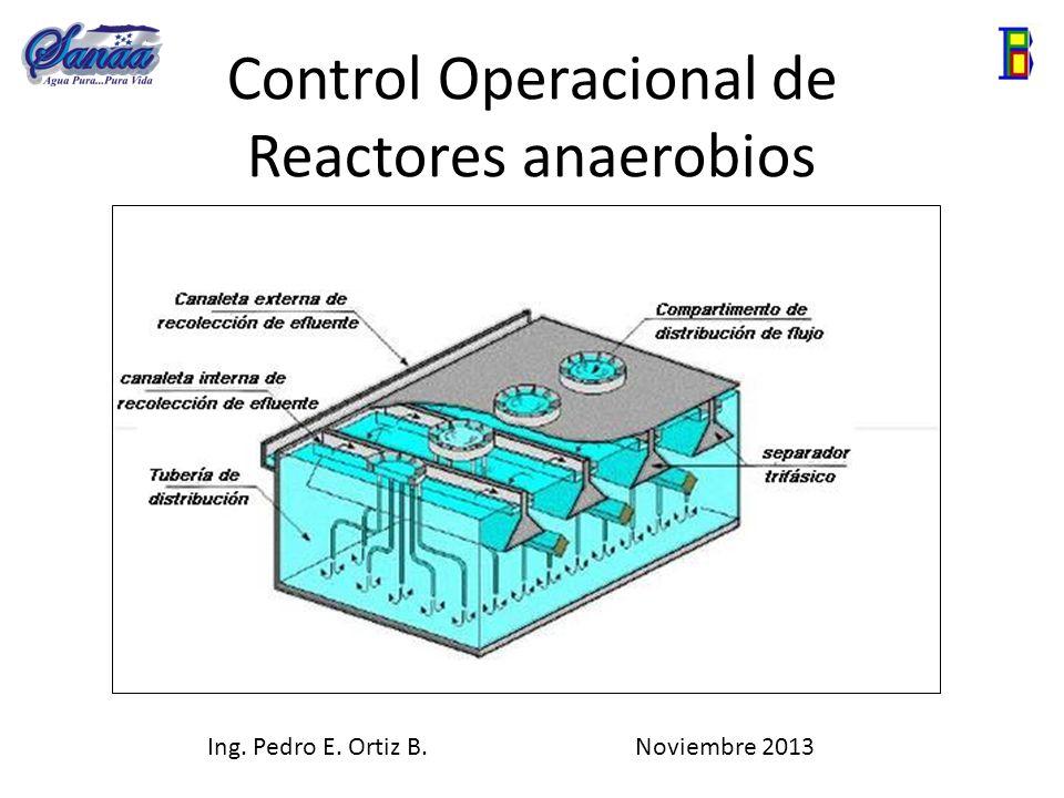 Control Operacional de Reactores anaerobios