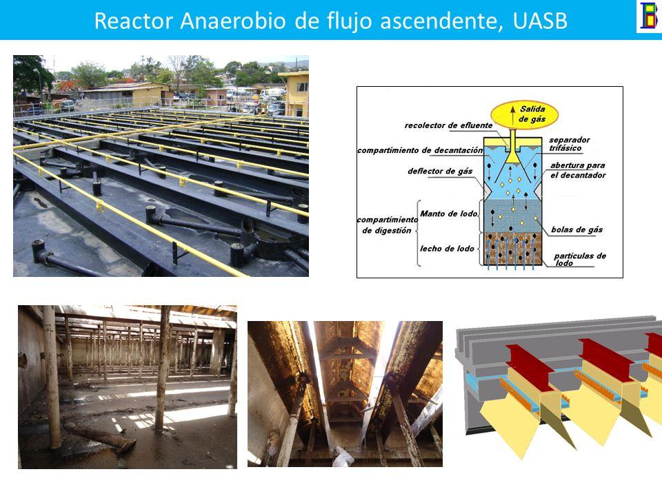 Reactor Anaerobio de flujo ascendente, UASB