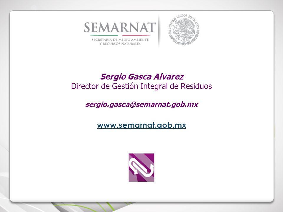 Director de Gestión Integral de Residuos