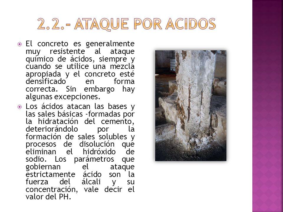 2.2.- ATAQUE POR ACIDOS