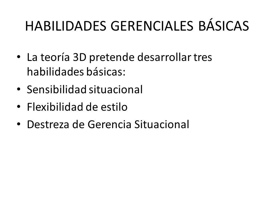 HABILIDADES GERENCIALES BÁSICAS
