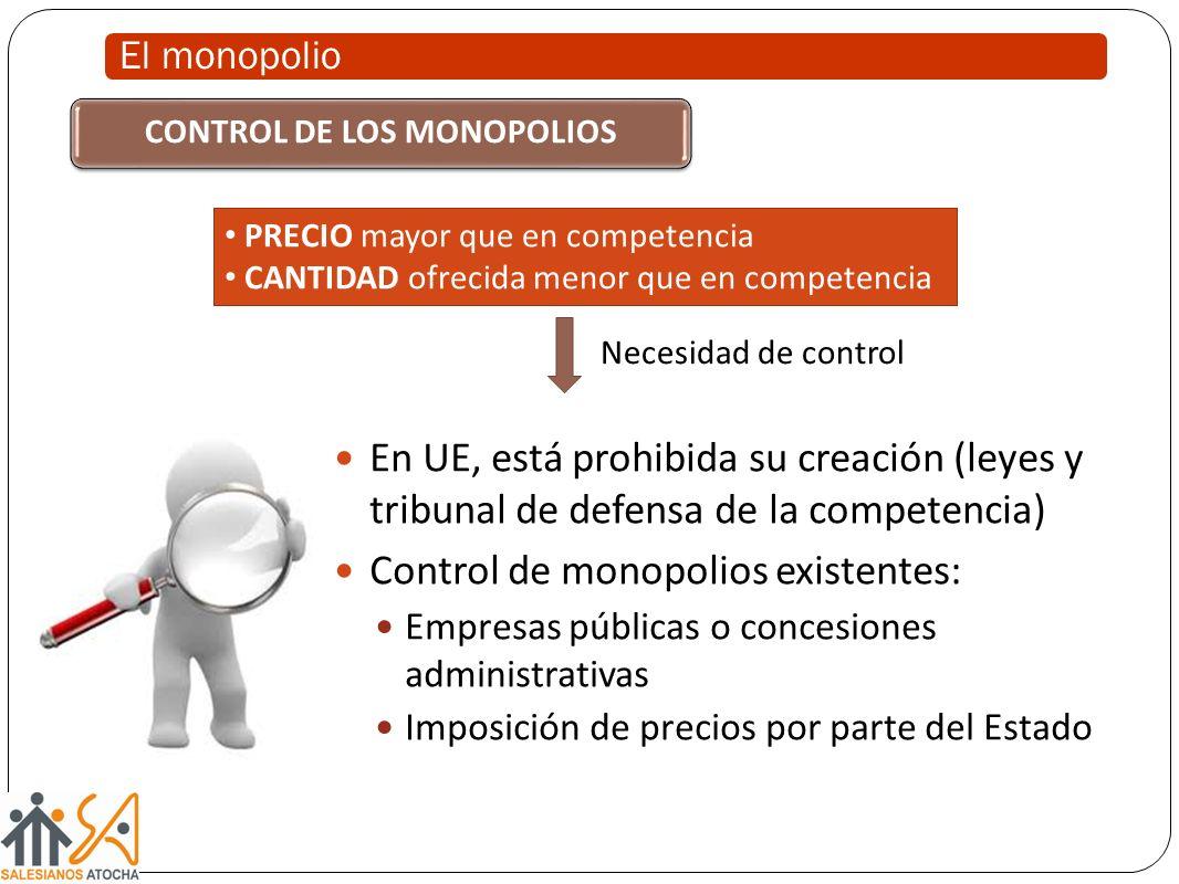 CONTROL DE LOS MONOPOLIOS