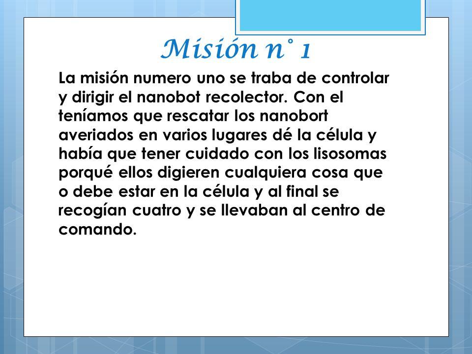 Misión n° 1