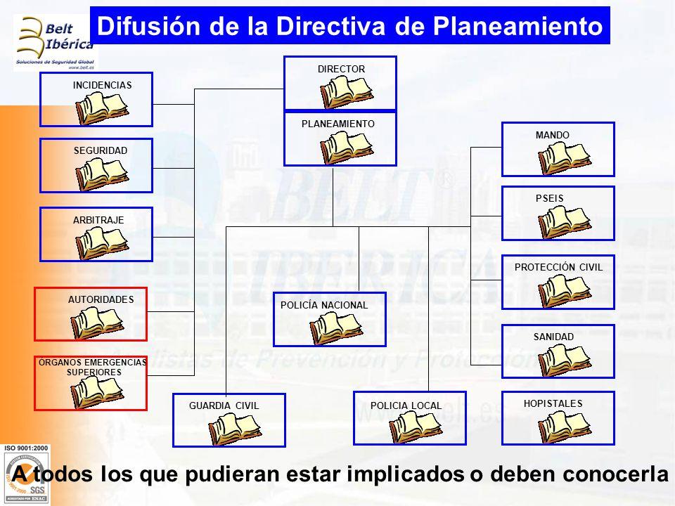 Difusión de la Directiva de Planeamiento