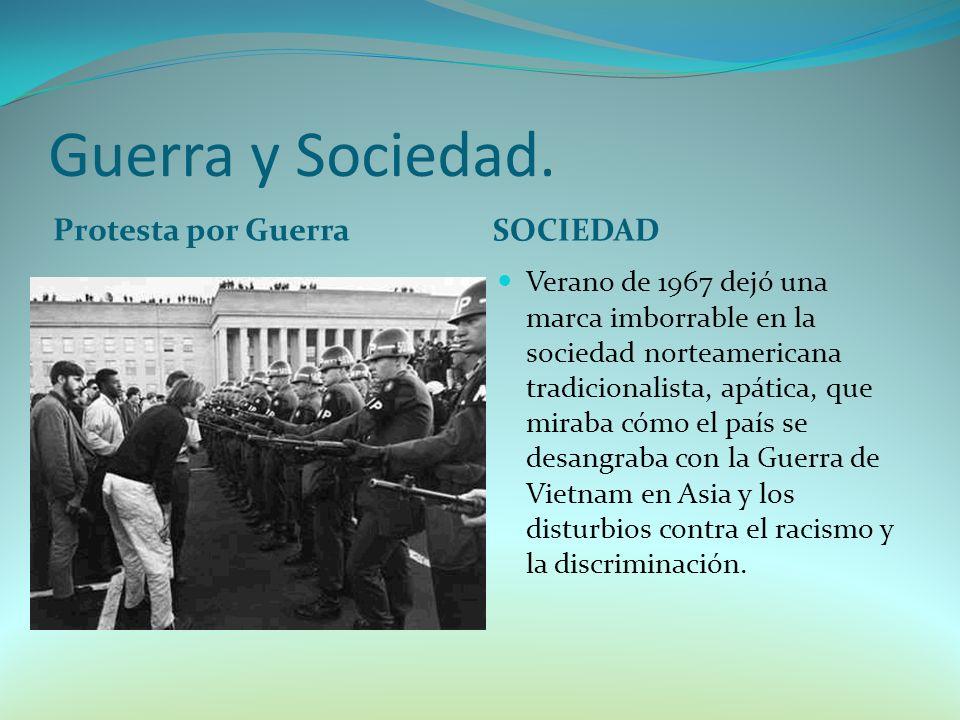 Guerra y Sociedad. Protesta por Guerra SOCIEDAD