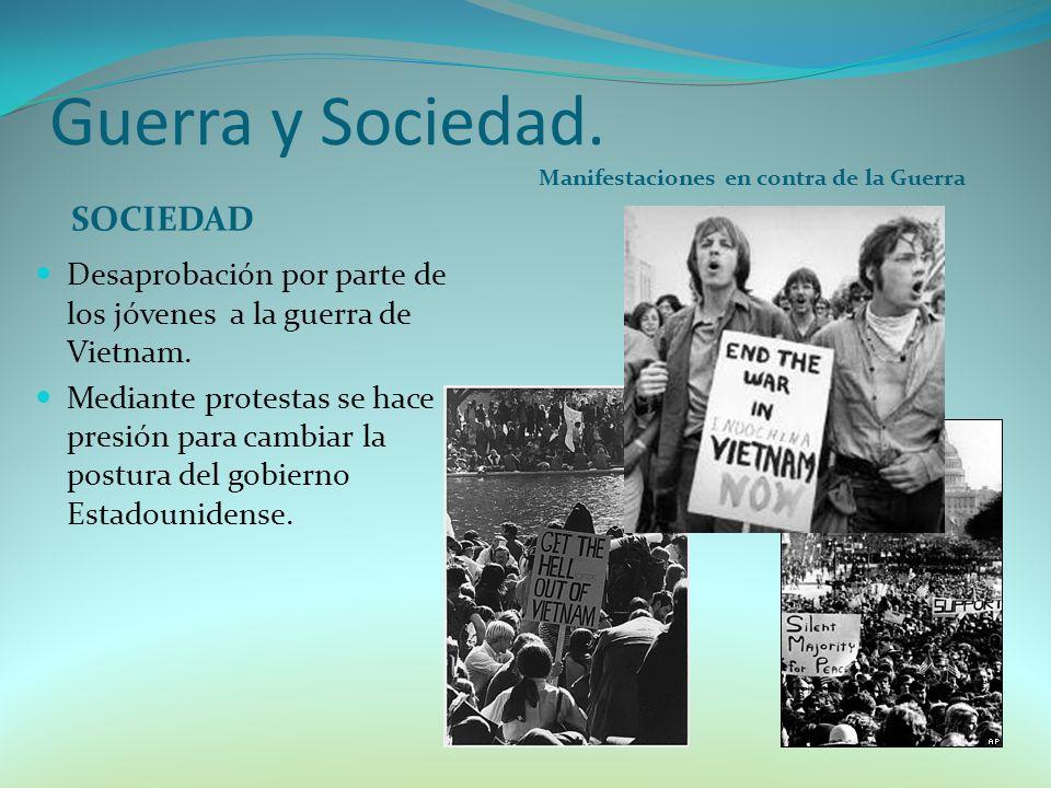 Guerra y Sociedad. SOCIEDAD