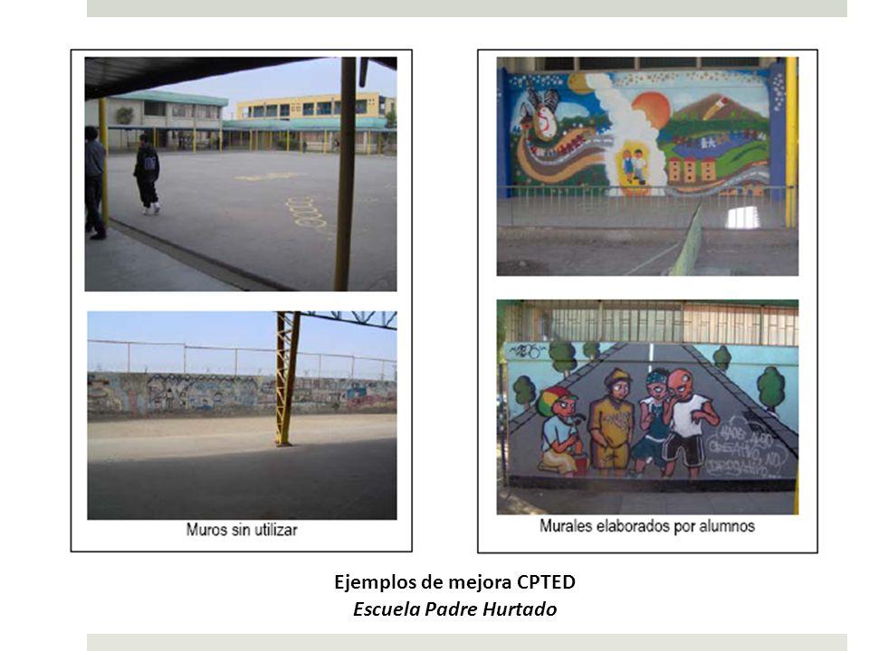 Ejemplos de mejora CPTED